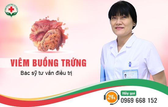 Điều trị viêm buồng trứng