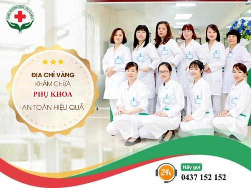 Địa chỉ khám phụ khoa ở Hà Nội